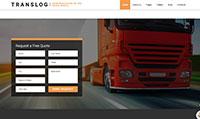 Site para transportadora :: Página Personalizadas